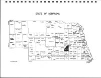 Nebraska State Map, Hamilton County 1985